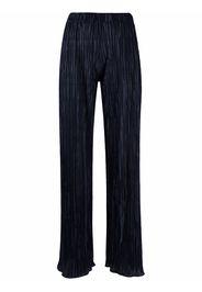 Charlott wide-leg pleated trousers - Blu