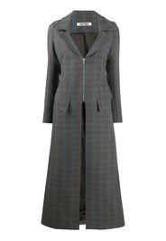 Cappotto con zip