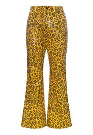 Pantaloni leopardati