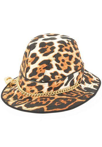 Cappello leopardato