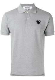 heart patch polo shirt