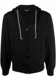 Comme Des Garçons Homme Deux zipped long-sleeve hoodie - Nero
