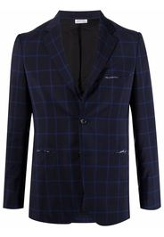 Comme Des Garçons Homme Deux single-breasted fitted blazer - Blu
