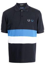 Comme Des Garçons Homme Deux x Fred Perry cotton polo shirt - Blu
