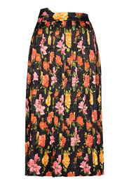 Fanny floral pleated skirt