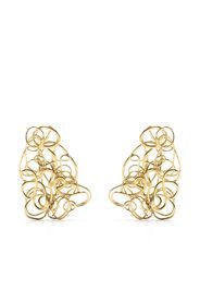 Completedworks In the Storm of Roses earrings - Oro