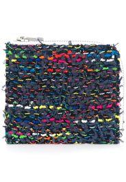 Portafoglio in tweed medio