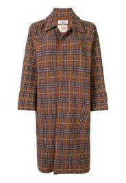 Cappotto in tweed con motivo tartan