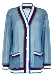 Coohem Cardigan con dettagli a contrasto - Blu
