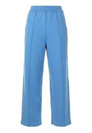 Coohem Pantaloni con cuciture in evidenza - Blu