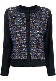 Coohem Vimar tweed cardigan - Blu