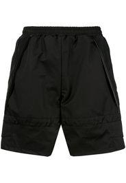 Shorts sportivi con vita elasticizzata