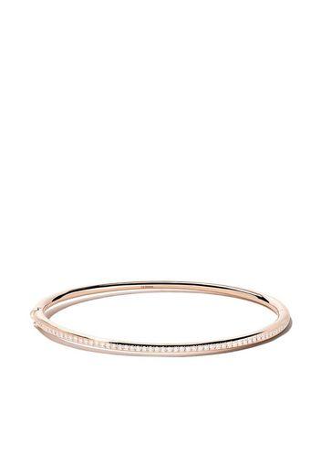 Bangle 'Micropavè' in oro rosa 18kt e diamanti