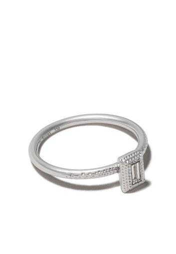 Anello in oro bianco 18kt e diamanti Talisman