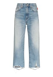 pierce cropped jeans