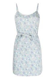 Denimist all-over floral print dress - Bianco