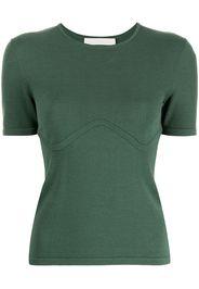 Dion Lee T-shirt - Verde