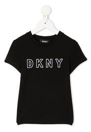 Dkny Kids T-shirt con stampa - Nero