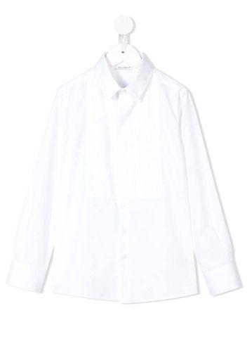 Camicia plissettata