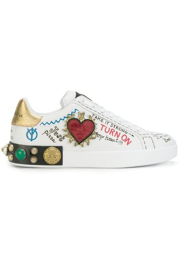 Sneakers con stampa