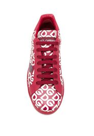 Sneakers Portofino con logo DG