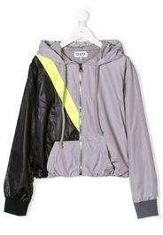 TEEN colour block jogging jacket