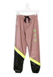 Pantaloni della tuta con design color block