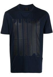 D'urban T-shirt con stampa - Blu