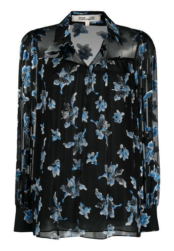 Heidi silk blouse