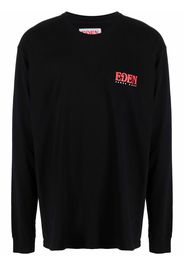 Eden Power Corp T-shirt a maniche lunghe - Nero