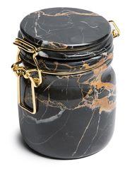 Editions Milano Miss marble jar - Nero