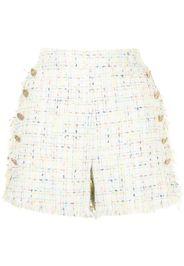 Edward Achour Paris Shorts sartoriali in tweed - Multicolore