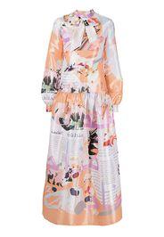 Elle B. Zhou Dreams of Old Dress - Multicolore