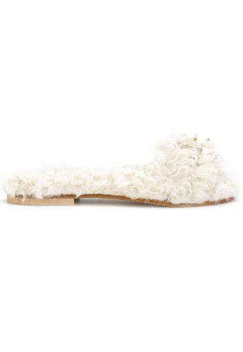 Sandali con suola piatta