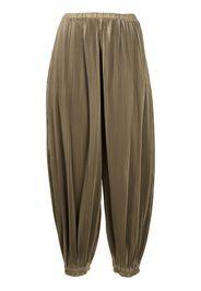 Enföld Pantaloni affusolati plissettati - Verde