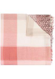 woven-print ombré scarf