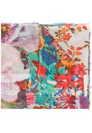 Passione floral scarf