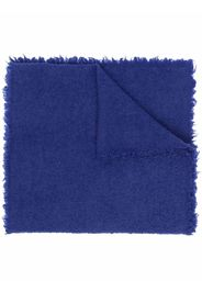 Faliero Sarti frayed-edge scarf - 77973 BLUETTE
