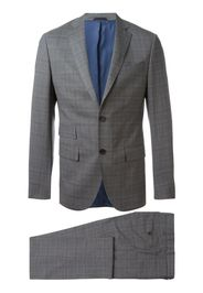 woven check suit