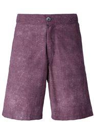 Pantaloncini da mare con effetto scolorito