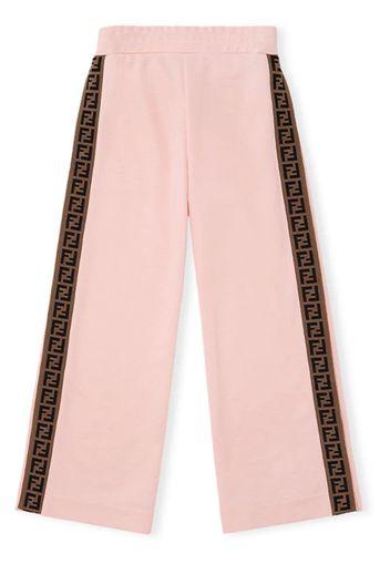 Pantaloni con logo FF