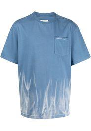 Feng Chen Wang T-shirt con stampa - Blu