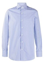 long sleeve stripe print shirt