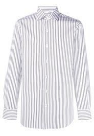 Finamore 1925 Napoli Camicia a righe - Bianco