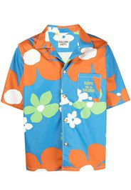 GALLERY DEPT. Camicia a fiori - Blu