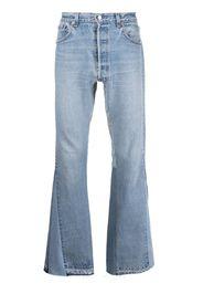 GALLERY DEPT. light wash straight-leg jeans - Blu