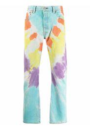 GALLERY DEPT. tie-dye jeans - Blu
