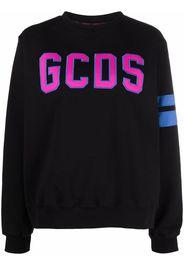 Gcds logo print sweatshirt - Nero