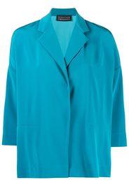 Gianluca Capannolo three-quarter sleeve shirt dress - Blu