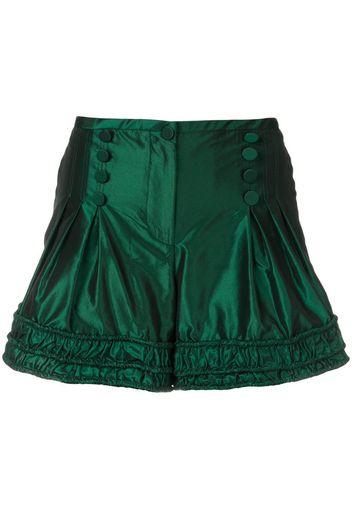 ruched short shorts